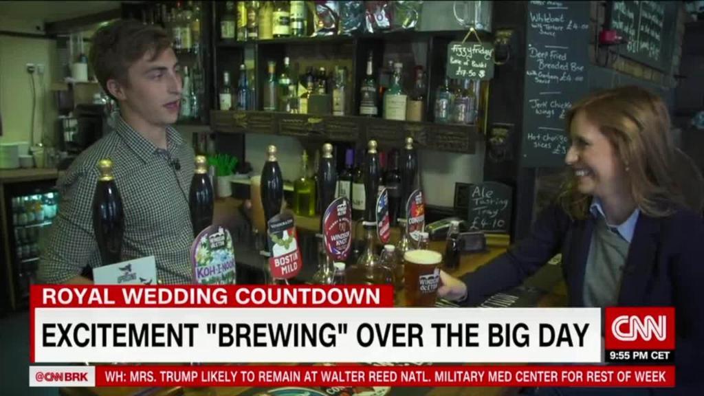 Royal wedding excitement brewing