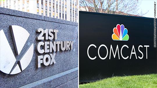 Comcast drops its $65 billion bid for 21st Century Fox