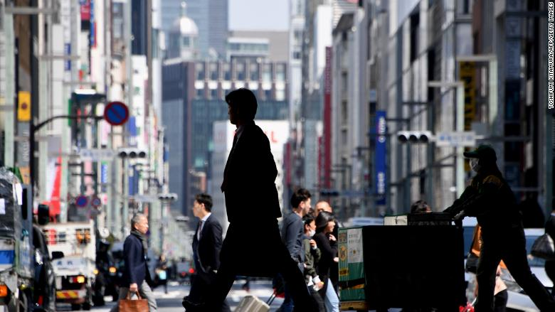 Japan economy returns to black after first dip in two years