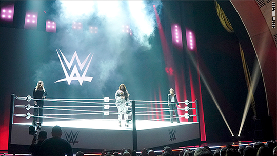 WWE soars on report of lucrative new TV deals
