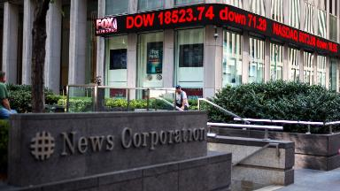 Fox News says top executive is on leave, but she has quietly kept working