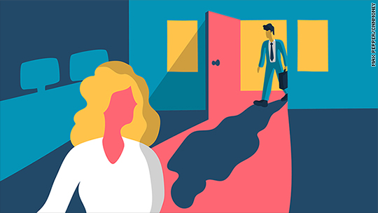 What happens when sexual harassers return to work