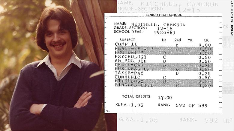 cameron mitchel report card