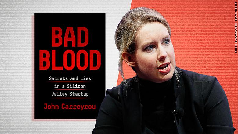 elizabeth holmes bad blood