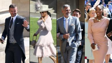 Famous royal wedding guests: Who was there