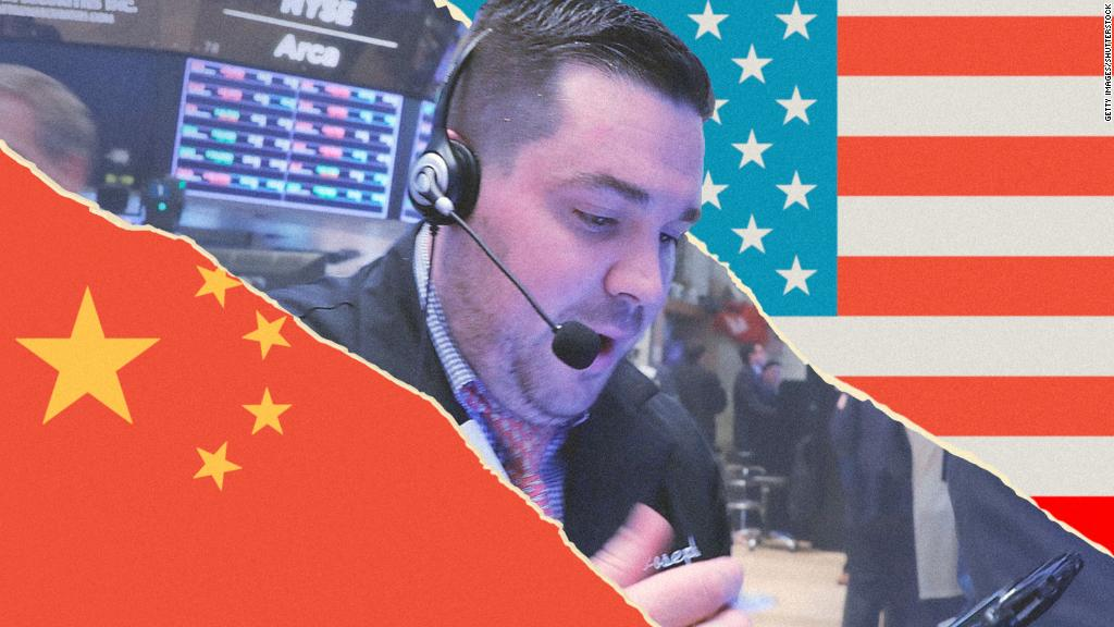 Trade war fears hit tech stocks