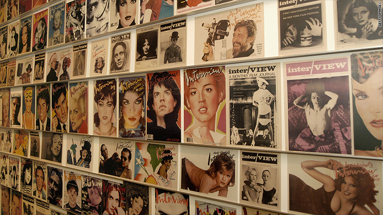 Andy Warhol's Interview Magazine Shuts Down