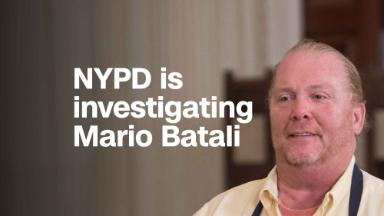 NYPD investigating Mario Batali for sexual misconduct