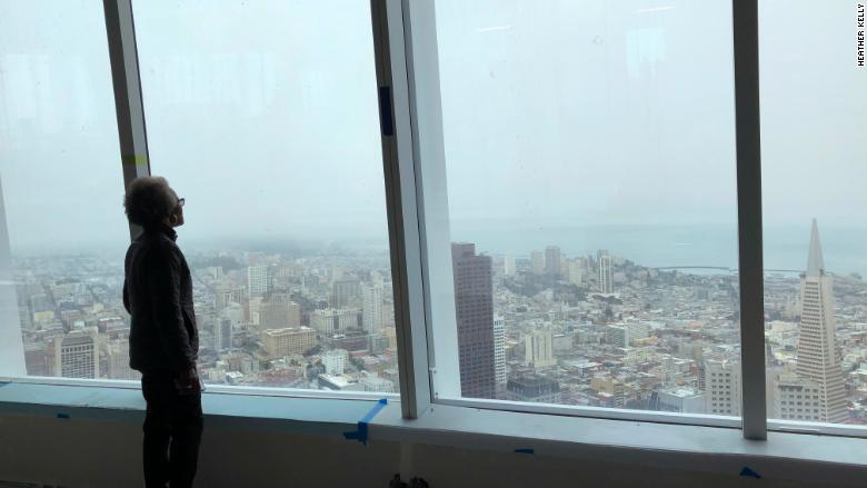 Salesforce Tower view