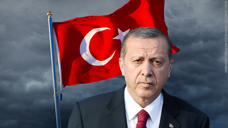 turkey flag erdogan