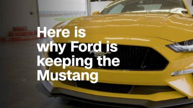 Here's why Ford isn't phasing out the Mustang
