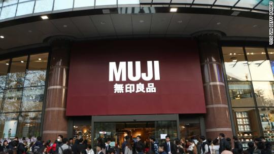 China fines Muji over label calling Taiwan a country