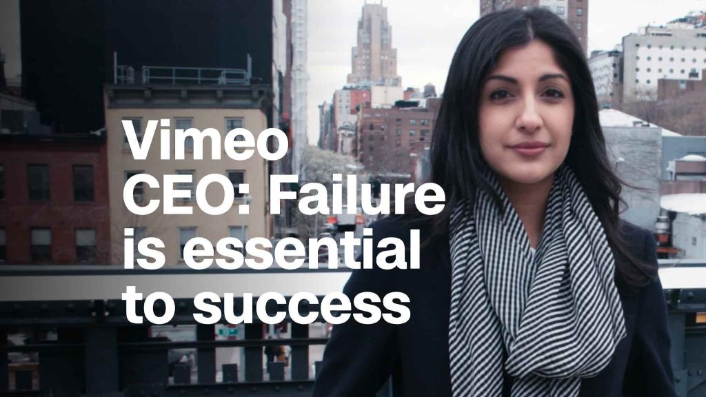 Vimeo CEO: Failure is essential to success