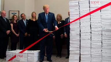The real story of Trump's crusade to cut government red tape