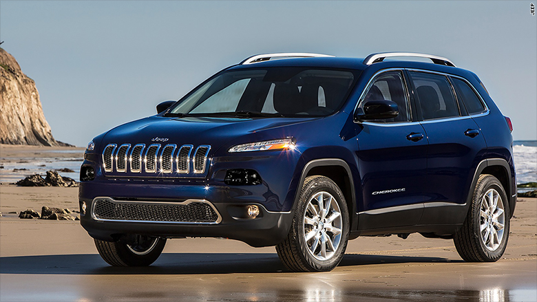 Fiat Chrysler recalls 4.8 million vehicles that could get stuck in cruise control