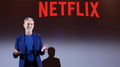 Chill? Netflix stock up even as market plunges