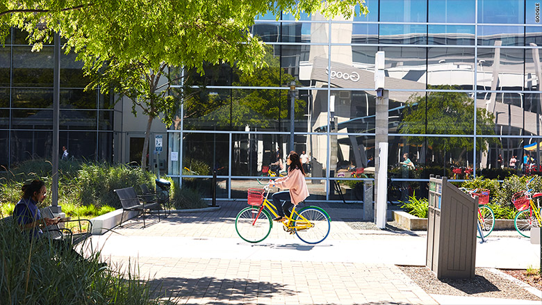 google headquarters bicycle