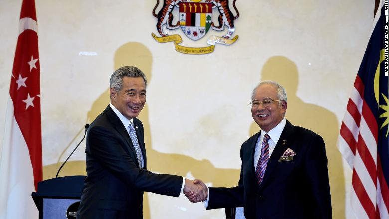 malaysia singapore najib lee