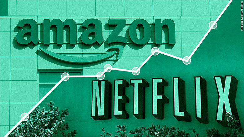 netflix  amazon and facebook are a  less dim  light on a
