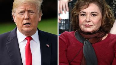 Trump breaks silence on Roseanne Barr scandal