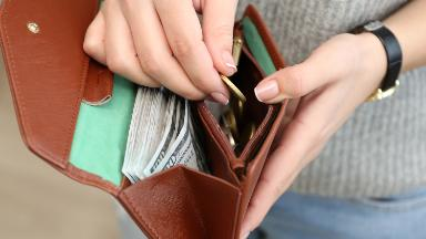 Consumers are spending a lot more and saving a lot less