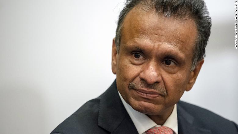 Samsonite CEO Ramesh Tainwala