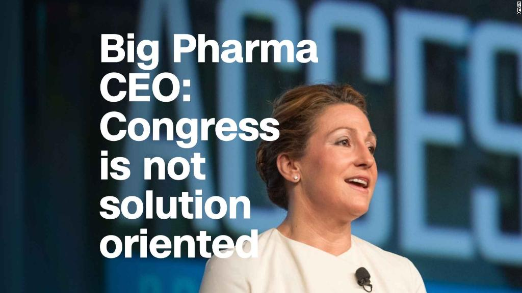 Mylan CEO: Congress is too partisan to fix health care