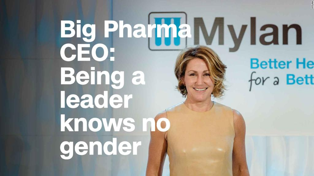 Mylan CEO: Being a leader knows no gender