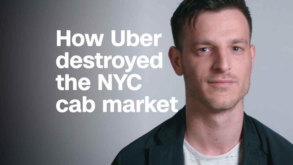 How Uber destroyed the NYC cab market