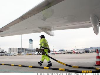 Higher oil prices are taking a toll on airline profits