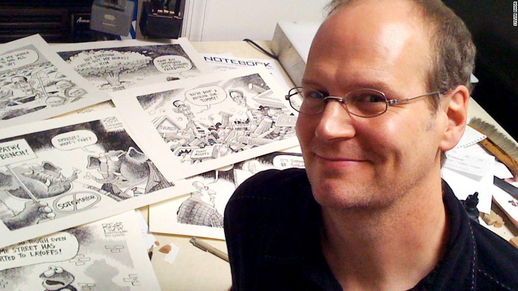Newspaper fires cartoonist critical of Trump