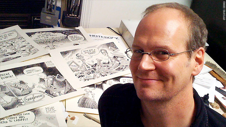 Pittsburgh Post-Gazette fires editorial cartoonist
