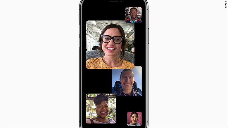 apple keynote group facetime 060418