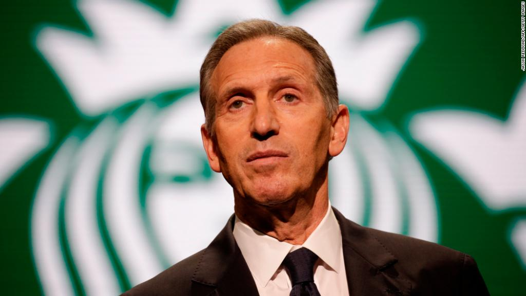 Watch: Howard Schultz said he wasn't running for president. Many times.