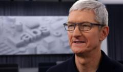 Apple CEO: I use my phone too much