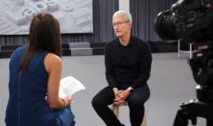 Apple CEO: Tariffs shouldn't affect iPhone