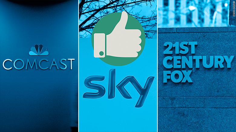 comcast sky fox thumb up