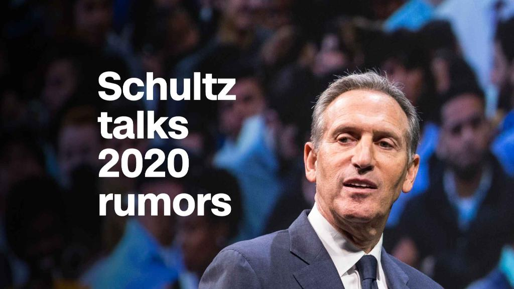 Howard Schultz talks political ambitions