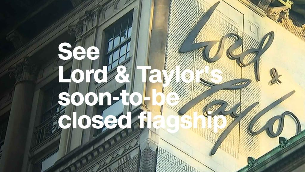 Lord & Taylor is closing its famous Fifth Avenue store