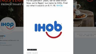 IHOP reveals the mystery of IHOb