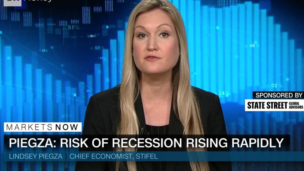 Economist: Risk of recession rising rapidly
