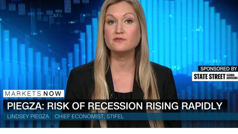 economist  risk of recession rising rapidly