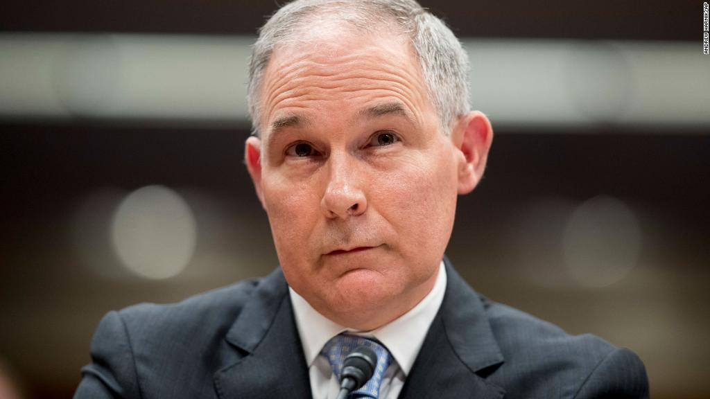 Two Pruitt aides resign amid ethics questions