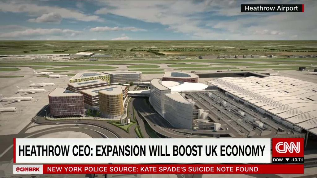 Heathrow to get third runway: CEO