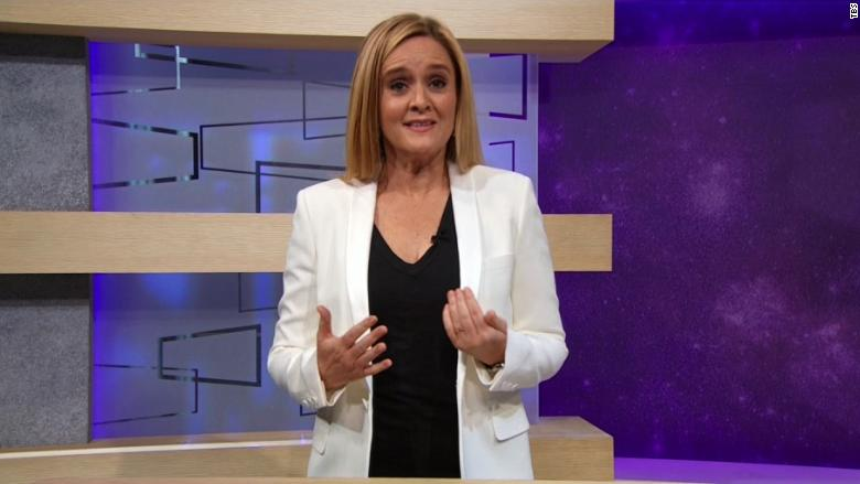 image of Samantha Bee's on-air mea culpa: 'Sorry for breaking America'