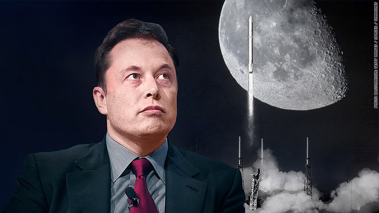 spacex moon 2 elon musk space
