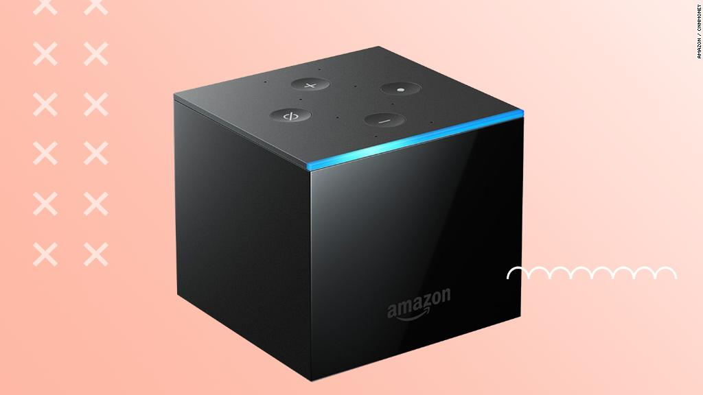 Amazon's Fire TV Cube works with Alexa