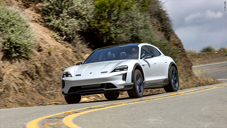 Porsche's first electric car will be called the Taycan
