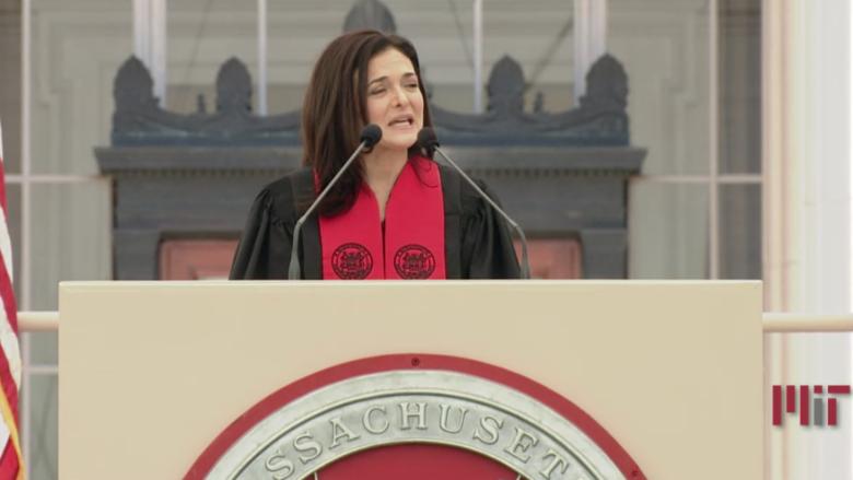 Sheryl Sandberg MIT Speech