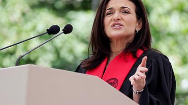 Sheryl Sandberg tells MIT grads about 'painful' Facebook lessons
